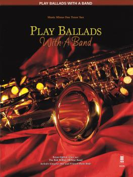 Play Ballads with a Band: Music Minus One Tenor Sax (HL-00400658)