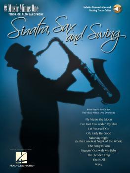 Sinatra, Sax and Swing: Music Minus One Tenor Saxophone (HL-00400751)