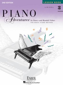 Level 3B - Lesson Book - 2nd Edition (Piano Adventures®) (HL-00420220)