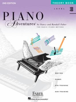 Level 3B - Theory Book - 2nd Edition (Piano Adventures®) (HL-00420221)