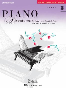 Level 3B - Performance Book - 2nd Edition (Piano Adventures®) (HL-00420222)