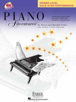 Primer Level - Gold Star Performance (Piano Adventures®) (HL-00420255)