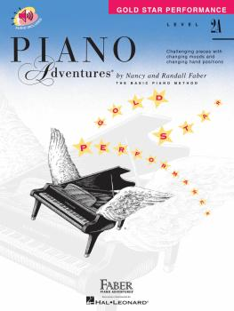 Level 2A - Gold Star Performance with Online Audio (Piano Adventures®) (HL-00420257)