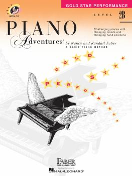 Level 2B - Gold Star Performance with CD (Piano Adventures®) (HL-00420258)
