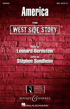 America (from West Side Story) (HL-00450001)