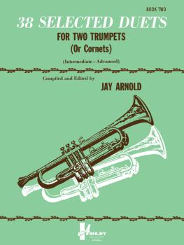 38 Selected Duets for Trumpet or Cornet Book 2: Intermediate/Advanced (HL-00510546)