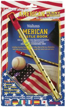 Learn to Play the American Penny Whistle for Complete Beginners: Twin  (HL-00634094)