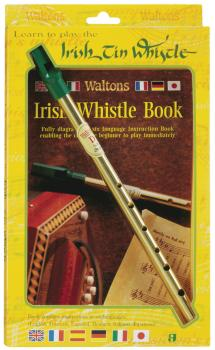Learn to Play the Irish Tin Whistle: Twin Pack including key of D whis (HL-00634113)