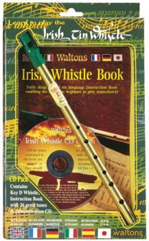 Learn to Play the Irish Tin Whistle: CD Pack including key of D whistl (HL-00634117)