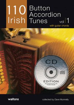 110 Irish Button Accordion Tunes (with Guitar Chords) (HL-00634199)