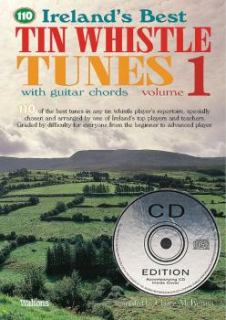 110 Ireland's Best Tin Whistle Tunes - Volume 1 (with Guitar Chords) (HL-00634219)