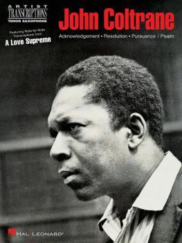John Coltrane - A Love Supreme (Tenor Saxophone) (HL-00672494)