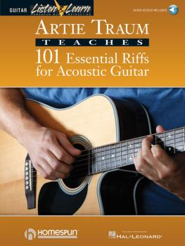 101 Essential Riffs for Acoustic Guitar (HL-00695260)