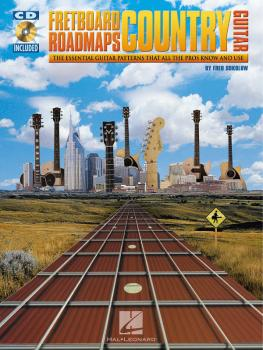 Fretboard Roadmaps - Country Guitar: The Essential Guitar Patterns Tha (HL-00695353)