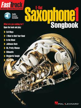 FastTrack Alto Saxophone Songbook - Level 1 (HL-00695409)