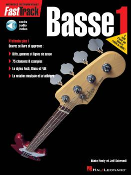 FastTrack Bass Method - Book 1 - French Edition (HL-00695436)