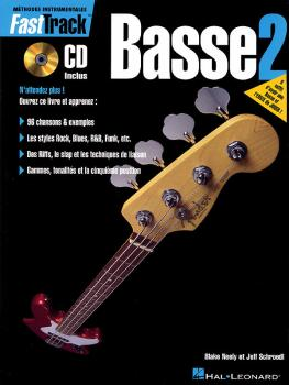 FastTrack Bass Method - Book 2 - French Edition (HL-00695437)
