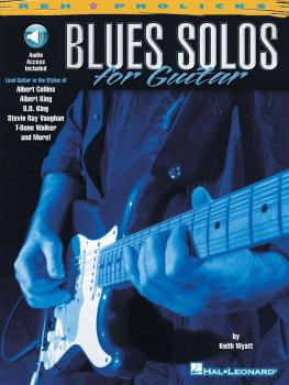 Blues Solos for Guitar (HL-00695451)