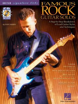 Famous Rock Guitar Solos: A Step-by-Step Breakdown of Lead Guitar Styl (HL-00695590)