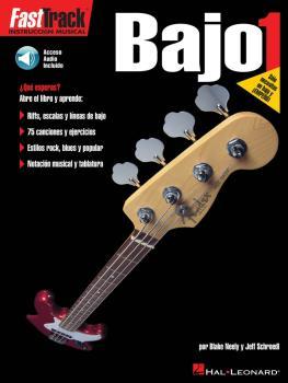 FastTrack Bass Method 1 - Spanish Edition (FastTrack Bajo 1) (HL-00695596)