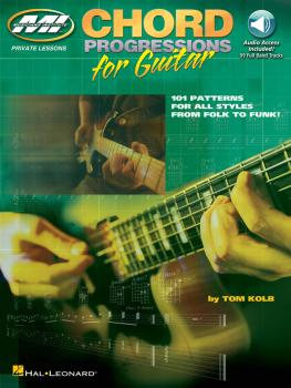 Chord Progressions for Guitar: 101 Patterns for All Styles from Folk t (HL-00695664)