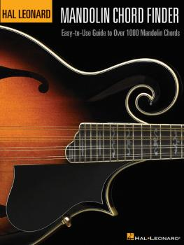 Mandolin Chord Finder: Easy-to-Use Guide to Over 1,000 Mandolin Chords (HL-00695739)