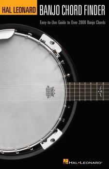 Banjo Chord Finder: Easy-to-Use Guide to Over 2,800 Banjo Chords (HL-00695742)