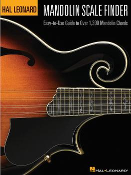 Mandolin Scale Finder: Easy-to-Use Guide to Over 1,300 Mandolin Chords (HL-00695779)