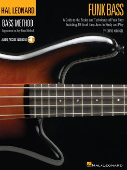 Funk Bass: A Guide to the Techniques and Philosophies of Funk Bass (HL-00695792)