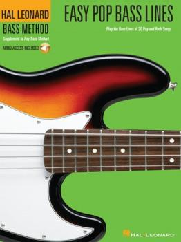 Easy Pop Bass Lines: Play the Bass Lines of 20 Pop and Rock Songs (HL-00695809)