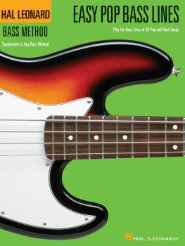 Easy Pop Bass Lines: Supplemental Songbook to Book 1 of the Hal Leonar (HL-00695810)