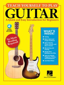 Teach Yourself to Play Guitar: A Quick and Easy Introduction for Begin (HL-00696029)