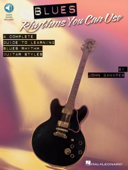 Blues Rhythms You Can Use: A Complete Guide to Learning Blues Rhythm G (HL-00696038)