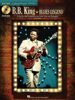 B.B. King - Blues Legend: A Step-by-Step Breakdown of His Guitar Style (HL-00696039)
