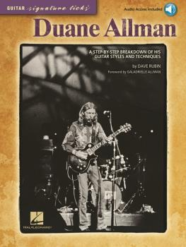 Duane Allman: A Step-by-Step Breakdown of His Guitar Styles and Techni (HL-00696042)