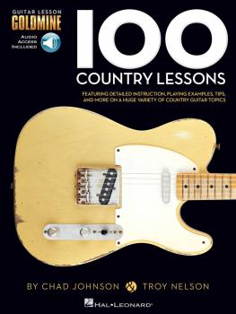 100 Country Lessons: Guitar Lesson Goldmine Series (HL-00696455)