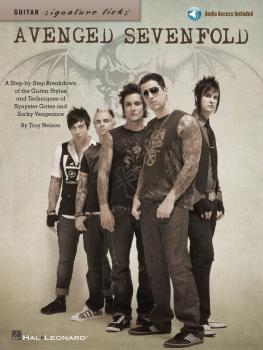 Avenged Sevenfold: A Step-By-Step Breakdown of the Guitar Styles & Tec (HL-00696473)