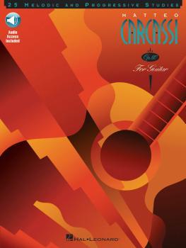Matteo Carcassi - 25 Melodic and Progressive Studies, Op. 60 (Book/Onl (HL-00696506)