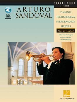 Arturo Sandoval - Playing Techniques & Performance Studies for Trumpet (HL-00696540)