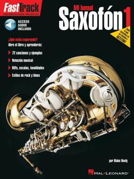 Saxofón 1: FastTrack Alto Saxophone Method - Book 1 - Spanish Edition (HL-00696657)