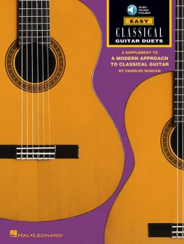 Easy Classical Guitar Duets (Book/CD Pack) (HL-00697244)