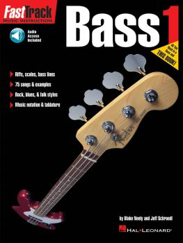 FastTrack Bass Method - Book 1 (HL-00697284)