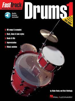 FastTrack Drums Method - Book 1 (HL-00697285)