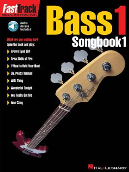FastTrack Bass Songbook 1 - Level 1 (HL-00697289)