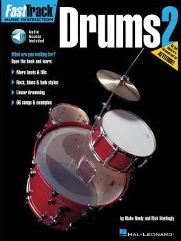 FastTrack Drums Method - Book 2 (HL-00697295)