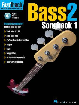 FastTrack Bass Songbook 1 - Level 2 (HL-00697298)