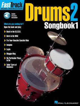 FastTrack Drums Songbook 1 - Level 2 (HL-00697299)