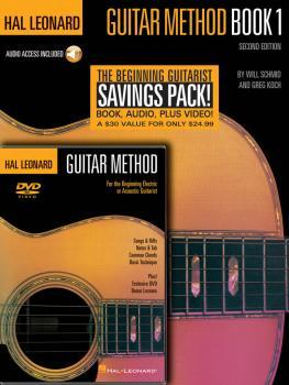 Hal Leonard Guitar Method Beginner's Pack (Book 1/CD & DVD Pack) (HL-00697341)
