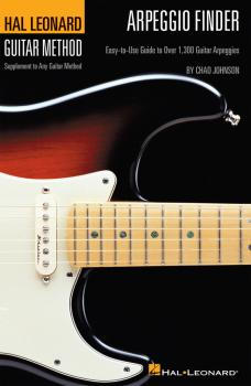 Arpeggio Finder: Easy-to-Use Guide to Over 1,300 Guitar Arpeggios Hal  (HL-00697352)