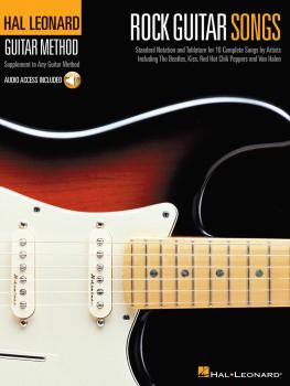 Rock Guitar Songs: Hal Leonard Guitar Method (HL-00697383)